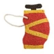 Loofah-Art Golf Bag Scrubber