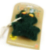 Loofah-Art Natural Kitchen Scrubber, Frog