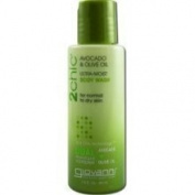 GIOVANNI COSMETICS 2chic Avocado & Olive Oil Ultra Moist Body Wash Travel Size