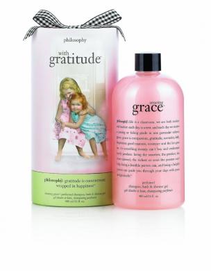 Philosophy with Gratitude Amazing Grace Perfumed Shampoo, Bath & Shower Gel, 470ml
