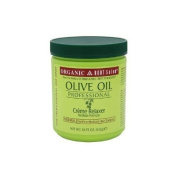 Organic Root Stimulator Olive Oil Professional Creme Relaxer, Normal Strength, 550ml