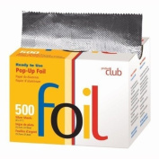 Product Club Ready to Use Foil Sheets, Silver, 500 Count