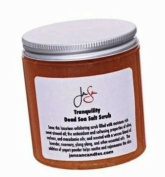 Jensan Tranquilly Natural Organic Body Scrub with Dead Sea Salt and Essential Oils