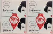 Kojie San Skin Lightening Soap 135g 4-Pack Body Care / Beauty Care / Bodycare / BeautyCare