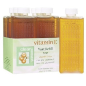 Clean & Easy Wax Refill 6-pack Large Vitamin E Body Care / Beauty Care / Bodycare / BeautyCare