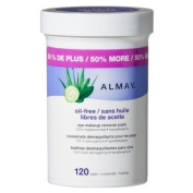 Almay Eye Makeup Remover Pads, 120 ct. Body Care / Beauty Care / Bodycare / BeautyCare