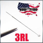 50 Pcs 3 Round Liner Sterilised Tattoo Needles 50-3RL