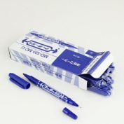 10pcs Blue Colour Tattoo Piercing Marking Pen Dual-tip Disposable Marker