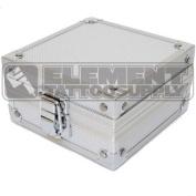 Silver Aluminium Machine Case Element Tattoo Supply Gun