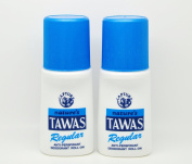 2 Natures Tawas Anti-Perspirant Deodorant Roll-on 2 x 50ml