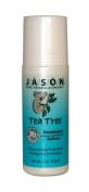 Jason Organic Tea Tree Oil Deodorant Roll-On, 90ml Tubes