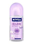 Nivea Double Effect Deodorant Roll-On, 1.7 Fluid Ounce
