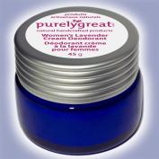 Natural Deodorant for Women Lavender