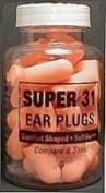 Super 31 Ear Plugs in a Bottle