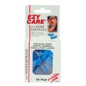 Ezy Care Soft Foam Ear Plugs - 10 Pair NRR 29
