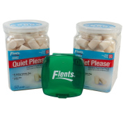 2 Pack Flents Quiet! Please Noise Reducing Ear Plugs with Container