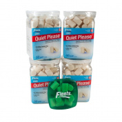 Apothecary Products Flents Quiet Please Foam Ear Plugs You Get a Total of 200 Pairs in 4 - 50 Pair Containers Nrr29 with a Ear Plug Holder for Daily Use