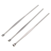 IRISMARU 3pcs Stainless Steel Earpick Ear Wax Removal Cleaner Tool