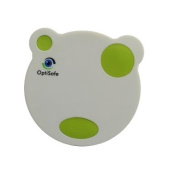 OptiSafe Panda contact lens case A-901