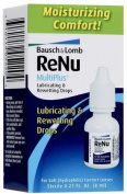 Bausch & Lomb renu MultiPlus Lubricating and Rewetting Drops-0.27 oz, 3 ct