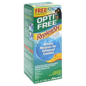 Opti-Free replenish solution for contact lenses - 120ml
