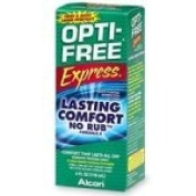 Opti-Free Express Multi-Purpose Disinfecting Solution, Lasting Comfort No Rub Formula