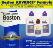 Bausch & Lomb Boston Advance Contacts Cleaning Multi Pack - Conditioning Solution & Cleaner Bottle, 1 Kit