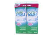 Pure Moist Opti-Free Soft Contact Eye Solution - Twin Pack