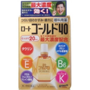 Rohto Gold 40 | Eye Drops | 20ml