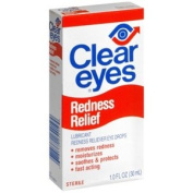 PACK OF 3 EACH CLEAR EYES 30ml PT#67811225419