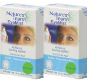 Natures Tears EyeMist Quadpack - Dry Eye Solution
