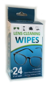 Lens Cleaning Wipes for Glasses, Cameras & All Optical Devices