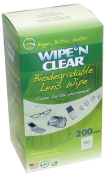 200 Flents Wipe N Clear Lens Cleaning Cloths