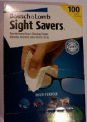 Bausch & Lomb Pre-Moistened Lens Cleaning Tissues, Style #1602SP 100 ea