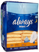 Always Maxi Overnight without Wings - 28 Count