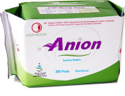 Winalite Anion Love Moon Sanitary Napkins/pads for Everyday Comfort Great Feminine Health Pantiliner Pads Single Package