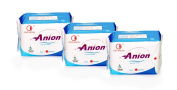 Winalite Anion Love Moon Sanitary Napkins/pads Great Feminine Health Day Pads X 3 Packages