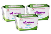 Winalite Anion Love Moon Sanitary Napkins/pads Great Feminine Health Pantiliner Pads X 3 Packages