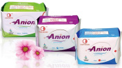 Winalite Anion Love Moon Sanitary Napkins/pads Great Feminine Health, 1 Set includes Regular Day Use, Overnight and Pantiliners