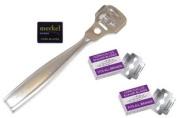 Tweezerman Callus Shaver Blades Plus Professional Stainless Steel Callus Shaver Combo