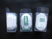 3 pcs/set Touch Me (®) Pumice Stone with Brush 2-in1 For pedicure foot care