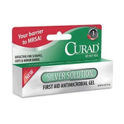 Curad Silver Solution Antimicrobial Gel, 1/60ml Tube