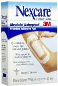 Nexcare Nexcare Absolute Waterproof Adhesive Dressing With Pad 6.1cm X 10cm , 6.1cm X 10cm 5 each