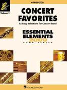 Concert Favorites Vol. 1 - Conductor