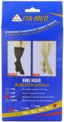 Graduated Compression Knee Highs, Unisex, Microfiber