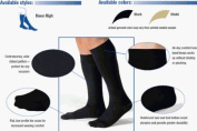 Jobst for Men Casual Support Socks Over-the-Calf 30-40mmHg Extra Large, Khaki