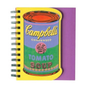 Andy Warhol Soup Can Layered Journal