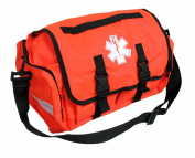 Dixigear First Responder On Call Trauma Bag W/ Reflectors- Orange
