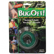 Bug Off! Adult Biting Insect Repelling Wrist Band