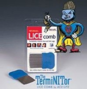400491 Comb Lice Remover The Terminitor Stainless Steel Pin Teeth Quantity of 1 unit by Health Enterprises, Inc -Part no. 400491